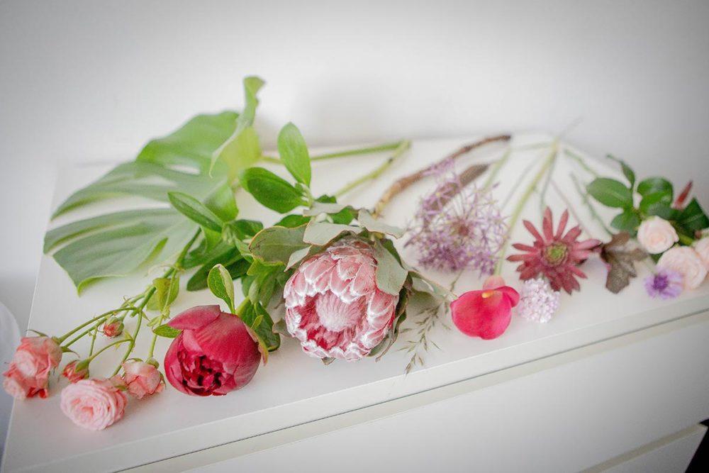 Цветы для оформления свадьбы в стиле бохо