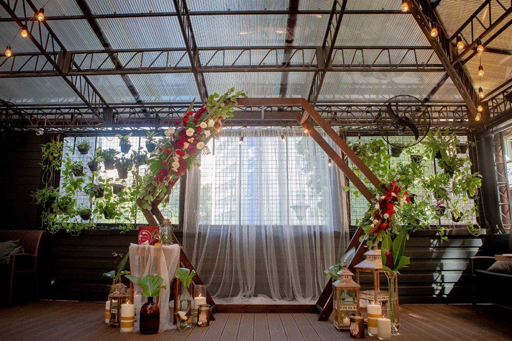 Свадебная арка и декор в винтажном стиле